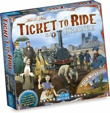 Ticket to Ride: France + Old West [Board Game Asmodee, Trains, Map Collection 6]