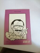 Stan Lee Marvel Comics Signed Trading Card