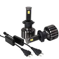 Free Shipping H7 80W 8000LM CREE LED Headlight Kit Beam Bulbs 6000K High Power
