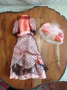Vintage Barbie Doll Talking Truly Scrumptious Dress & Hat Rare