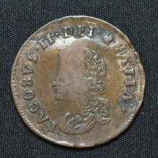 More details for 1691 ireland, james ii, limerick siege hibernia halfpenny, s6594, tb00z-3h, w5/5