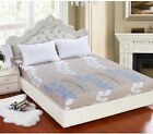 Soft Fitted Sheet Single Double Queen King Super King Size 10 Style