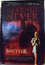 """Shutter (woman on front variant) - 27""""x40"""" 2 Sided ORIGINAL Movie Poster"""