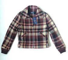 Women's Polo Ralph Lauren Wool Tartan Plaid Jacket - Size 4