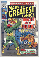 Marvels Greatest Comics #24 FN Kirby, Ditko,Fantastic Four, Iron Man, Dr Strange