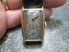 HAMILTON DOCTOR'S 980A MOVEMENT GOLD FILLED CASE Running Watch