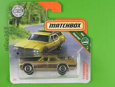 Matchbox 2018 MBX Road Trip 11 neu in OVP ´16 Chevy Camaro Convertible