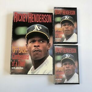 Rickey Henderson Off Base Confessions of a Thief John O'Shea Cassette Book Tape