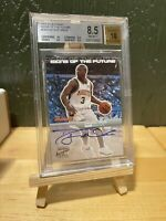 2003-04 Dwyane Wade RC Rookie BGS Bowman Signsof the Future On card autograph