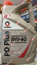Comma - PD Plus Motor Oil Car Engine Performance 5W-40 Fully Synthetic FS - 5L
