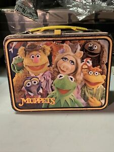 JIM HENSON'S MUPPETS 1979 METAL LUNCHBOX by THERMOS - Fozzie