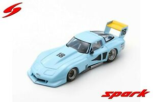 US048 Spark:1/43 Chevrolet Corvette C3 #18 Road Atlanta 100 Mile 1978 John Paul