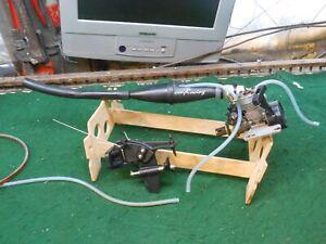 Vintage CEN RC Nitro Boat Motor Aqua Jet Team CEN Remote control Gas Nitro