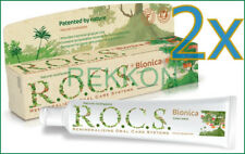 2x Natural Bionica R.O.C.S. Toothpaste Remineralizing Oral Care Systems ROCS