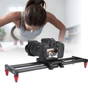 42cm Carbon Fiber Camera Track Slider Video Stabilizer Rail Camcorder Filming
