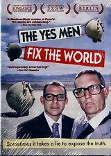NEW 2DVD SET // YES MEN FIX THE WORLD // Andy Bichlbaum, Mike Bonanno, Reggie Wa
