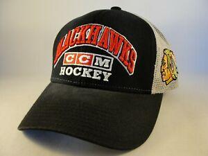 Chicago Blackhawks NHL Trucker Snapback Hat Cap CCM