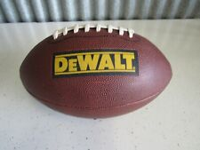 DeWalt Tools Promotional Regulation Size Leather ???? Football Great Condition