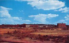 Sudbury Ontario Canada Copper Cliff Refinery~International Nickle Postcard 1960s