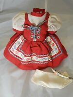 Furga Doll Italy Outfit Vintage  Ethnic Dress