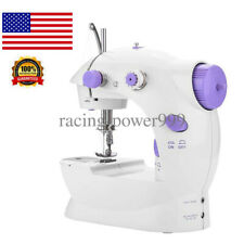 Portable Electric Sewing Machine Desktop Household Tailor 2 Speed Foot Pedal US