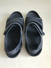 Kids Boys Infant Genuine CROCS Navy Sandals Size C 13