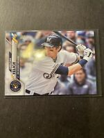 2020 Topps Series 1 Christian Yelich Base Card #200 Milwaukee Brewers