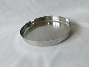 Lalit Stainless Steel India Serving Tray 20.5cm Diameter