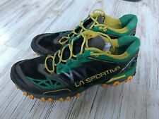 La Sportiva Bushido - Trail Running Shoes - Green Yellow Men's Size 10.5  EU 44