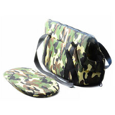Pet Dog Carrier Puppy Camo Travel Tote Canvas Shoulder Bag Animal Outdoor Supply