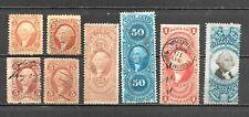 U.S.8 Original Civil War Era Revenues Including a $1.00 Value