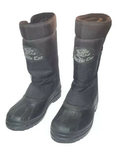 Arctic Cat Size 8 Unisex Insulated Side Zip Snowmobile Boots