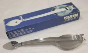 Boxed Vintage Kuhn Rikon Serving Tongs Stainless Steel 2174 Servierzange 80s