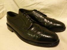 MENS Florsheim Imperial Kenmoor Long Wing Black Pebble Dress Shoe 11 B $425