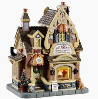 Lemax Caddington Village New 2020 CLAIRE'S CONFECTIONERY #05665 BNIB Lighted Bui