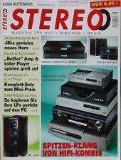 Stereo 9/08 Lua Belcanto, JBL LS80, NAD Viso Two, Philips MCi 500 H, Rega IOS