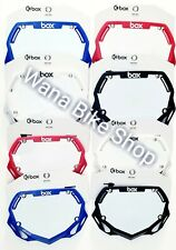 BOX Phase BMX Number Plates ( Pick your Size and Color )