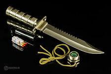 Coltello da Caccia Turistico JUNGLE KING 2 - NT056 - SURVIVAL KNIFE