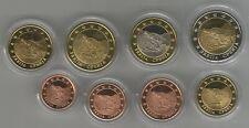 Serbia set 8 Euro Coins / Pattern in Capsules Ex-Yugoslavia UNC