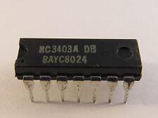 RC3403ADB Raytheon Total Quad Operational Amplifier DIP14