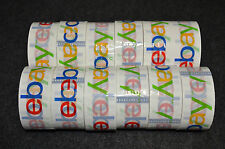 7 BRAND NEW GIANT ROLLS OF OFFICIAL EBAY TAPE. BEST QUALITY.  2'' X 75 YDS. ROLL