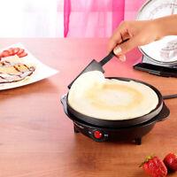 Piastra Premium per Crepes, Crepiera Elettrica Antiaderente, Accessori Cucina