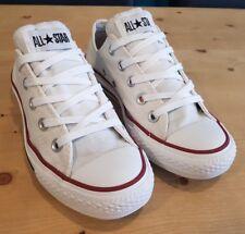 All Star Converse Blanco Zapatillas Size UK 4 EU 36.5