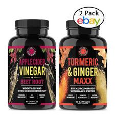 Weight Loss Apple Cider Vinegar + Beet Root & Turmeric + Ginger Maxx Pills