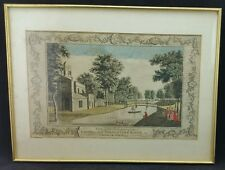 Back part of the Cassina & Serpentine River in Chiswick Gardens Circa 1790 Print