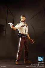 1/6 DSTOYS Walking Dead man Zombie Police Action Figure Toy Model Collection
