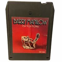 Barry Manilow Trying to get the Feeling 8 Track Tested & Works 1975