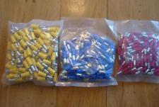 1 Set = je 100 St,Rundstecker u. Rundsteckhülse isol., gelb 4,0-6,0 mm²