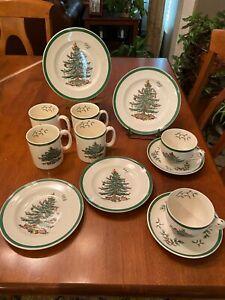 Spode Christmas Tree Lot collection 12 Items England