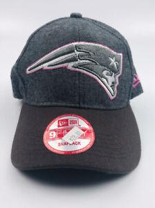 New England Patriots NFL NEW ERA Women's Adjustable SnapBack Hat